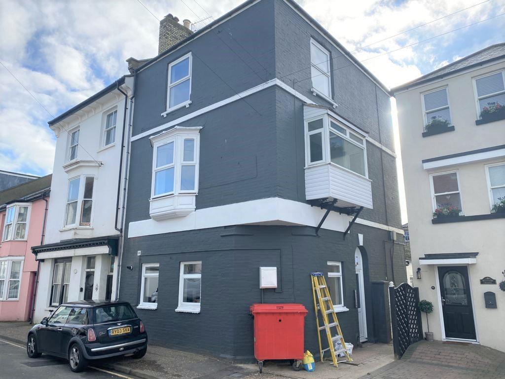 Western Road, Littlehampton property exterior, newly painted dark grey