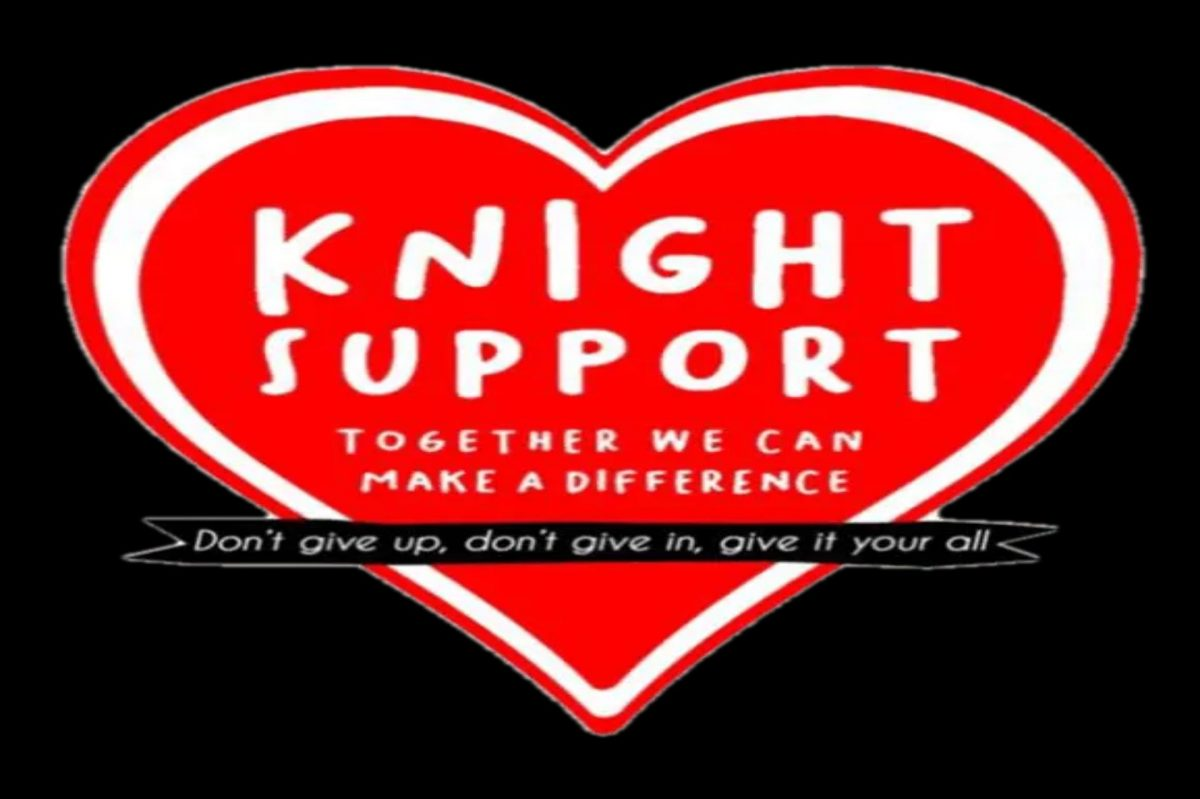 Knight Support Logo, rcgharity supporting Brighton & Hove's homeless and rough sleepers