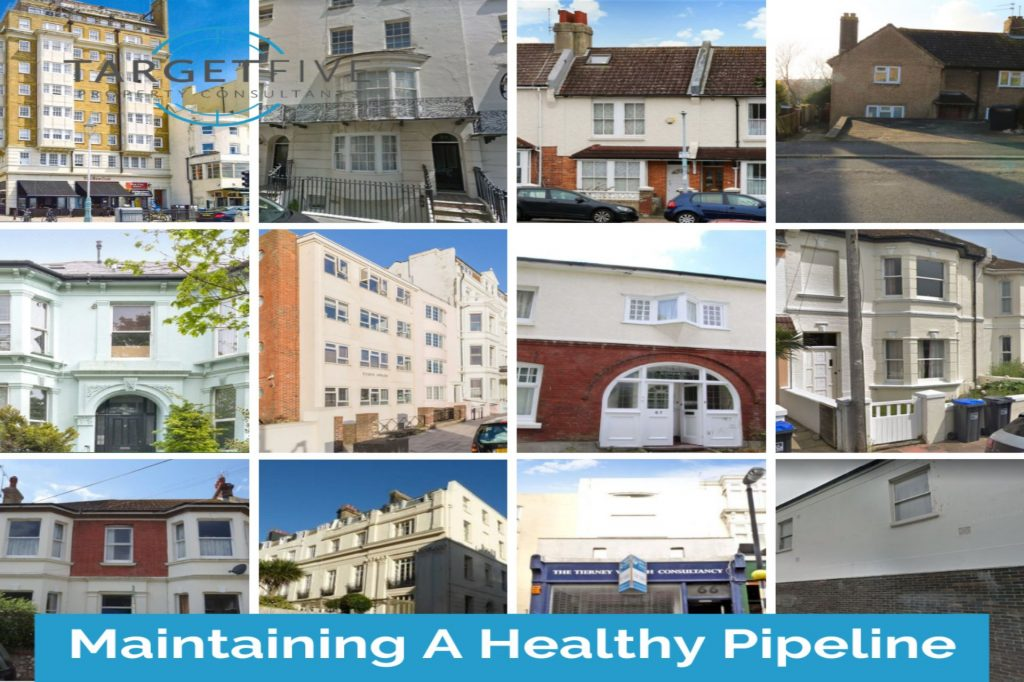 collage of property's in our pipeline, property exteriors